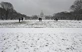 Forte tempête de neige attendue au Nord-Est, Washington sous la neige