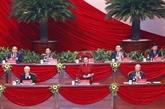Communiqué de presse sur la séance de clôture du XIIIe Congrès national du Parti