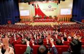 Le leader vietnamien reçoit les félicitations de son homologue chinois