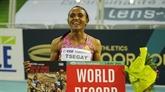 Athlétisme : l'Éthiopienne Tsegay bat le record du monde du 1.500 m en salle (3:53.09)