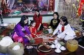 Les ressortissants vietnamiens au Laos préservent le Nouvel An lunaire traditionnel