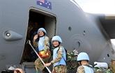 Le Vietnam propose la campagne vaccinale aux soldats de la paix