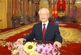 Vœux du Nouvel An 2021 du SG du Parti et président Nguyên Phu Trong