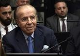 Décès de l'ancien président argentin Carlos Menem