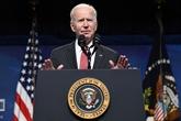 Joe Biden appelle à