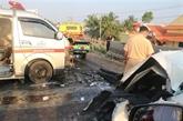 Les accidents de la route font moins de victimes pendant le Têt
