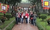 Hanoï accueille 122.000 touristes à l'occasion du Nouvel An lunaire