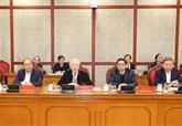 Nguyên Phu Trong souligne les tâches clés à réaliser au 1er trimestre