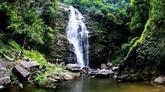Cascade de Khe Kem : une bande de soie blanche dans le parc national de Pu Mat