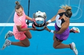 Open d'Australie : Mertens et Sabalenka titrées en double dames