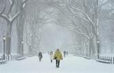 Le Nord-Est des États-Unis pris dans une vaste tempête de neige