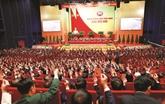 Le peuple se réjouit du succès du XIIIe Congrès national du Parti
