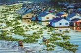 La beauté paisible du village flottant de Châu Dôc