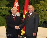 Cuba - Vietnam : Raul Castro Ruz félicite Nguyên Phu Trong