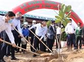 Le PM à la cérémonie de lancement de la Fête de plantation d'arbres à Phu Yên