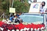 Myanmar : funérailles d'une jeune manifestante morte des violences