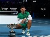 Open d'Australie : 9e sacre record et 18e titre du Grand Chelem pour Djokovic, qui surclasse Medvedev