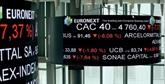 La Bourse de Paris dans le rouge, toujours inquiète d'un relèvement de taux
