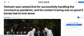 Business Insider salue la lutte anti-COVID-19 menée par le Vietnam