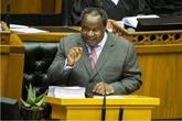L'Afrique du Sud présente son plan pour relever le pays