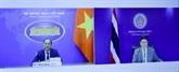 Vietnam et Thaïlande conviennent d'approfondir leur partenariat stratégique renforcé