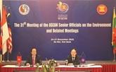 Le Vietnam contribue activement aux efforts régionaux sur l'environnement