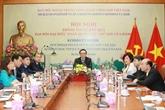Présentation des résultats du XIIIe Congrès national du PCV aux autorités de Saint-Pétersbourg
