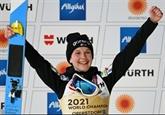 Mondiaux de saut à ski : 1er titre pour la Slovène Klinec sur le petit tremplin