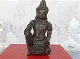 Bac Liêu : une statue d'un dieu masculin reconnu