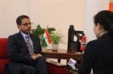 Ambassadeur d'Inde : le développement du Vietnam contribue à la prospérité mondiale