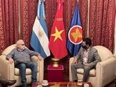 Promotion de bons liens politiques Vietnam - Argentine