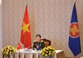 Le Vietnam à une réunion virtuelle de l'ASEAN