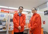 Expatriés vietnamiens : un homme d'affaires japonais au