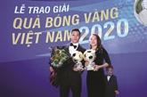 Van Quyêt, lauréat du Ballon d'Or 2020 du Vietnam