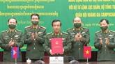 Signature d'un protocole d'accord Vietnam - Cambodge