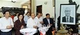 Le Premier ministre rend hommage à des défunts dirigeants du Parti et de l'État