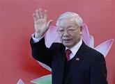Messages de félicitations au secrétaire général et président Nguyên Phu Trong