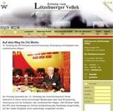 Un historien allemand souligne l'importance du Congrès pour le mouvement communiste