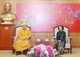 Les activités de l'Église bouddhique du Vietnam saluées
