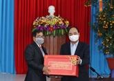 Têt : le PM offre des cadeaux au Centre de patronage social de Quang Nam