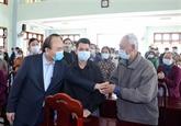 Le PM formule ses vœux du Têt et souligne le Congrès national du Parti