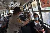 La Thaïlande s'inquiète du risque possible de transmission du COVID-19