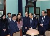 Le PM Nguyên Xuân Phuc rend hommage au Président Hô Chi Minh à la Maison 67