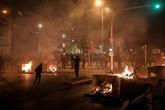 Heurts entre manifestants et police à Athènes : trois policiers blessés