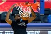 NBA : l'état de Durant réévalué la semaine prochaine mais pas de retour dans l'immédiat
