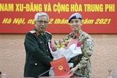 Un officier vietnamien affecté à des missions au siège de l'ONU