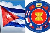 L'ASEAN et Cuba évaluent leurs potentiels de coopération
