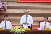 Le Premier ministre Nguyên Xuân Phuc en tournée à Nghê An