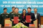 Bac Giang et Viettel coopèrent dans l'édification de l'administration électronique