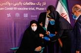 L'Iran commence les essais cliniques de son nouveau vaccin contre le COVID-19